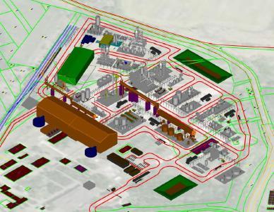 Planung der Anlage für die Produktion von Lithium-Chemikalien in Batteriequalität