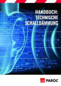 Akustik-Handbuch von Paroc