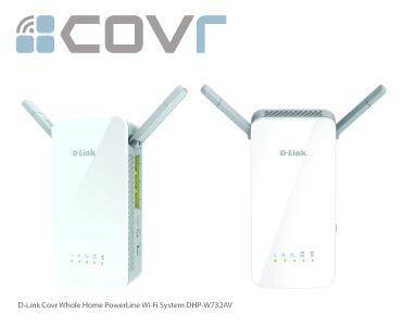 D-Link Covr Whole Home PowerLine Wi-Fi System DHP-W732AV