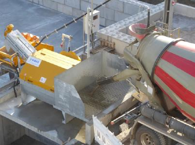 The supplied ComTec 20 system has a recycling capacity of 20 m³/h