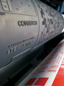 ContiTech nutzt seine Kompetenz aus der Herstellung von Drucktüchern für die Entwicklung und Produktion von Flexodruckformen, Foto: ContiTech