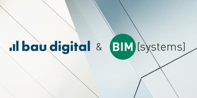 bau digital und BIMsystems gehen Kooperation ein und binden Endkunden in die BIM-Planung mit ein.