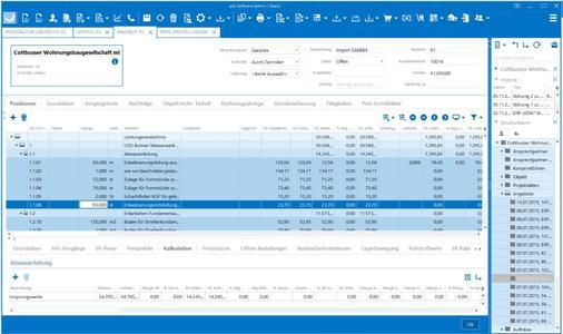 Frisch, klar und aufgeräumt – so präsentiert sich die neue Bedienoberfläche von pds Software 3.0