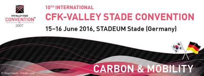 Korea wird Partnerland der 10. Internationalen CFK-Valley Stade Convention 2016
