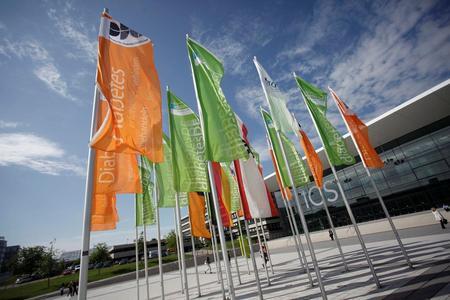 Vom 16. bis 19. Mai 2012 Veranstaltungsort des Diabetes Kongresses 2012: das ICS Internationales Congresscenter Stuttgart