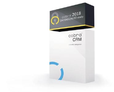 Die cobra Version 2018 DATENSCHUTZ-ready bietet Neuerungen zur Umsetzung der gesetzlichen Anforderungen der EU-DSGVO