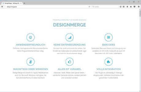 Startseite designmerge.de