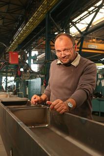 """Produktionsleiter Dipl.-Ing. Werner Meyer:""""Die Phoenix 521 Expert puls forceArc®""""erfüllte unseren Pflichtenkatalog souverän.Es gibt keine weitere Maschine am Markt,die einen vergleichbar druckvollen wie richtungsstabilen Lichtbogen erzeugt"""""""