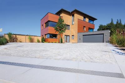 Ein Bauherr verwirklichte seinen Traum von einem weiträumigen und offenen Haus in Schloß Holte-Stukenbrock.