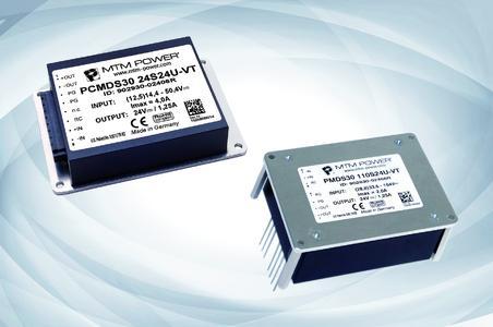 Serie PMDS/PCMDS30 für Bahn- und Industrieanwendungen