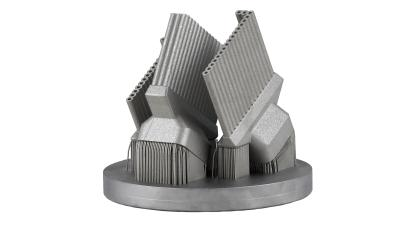 Sample Cooling Fins / Material: 17-4PH / Printed by the Coherent CREATOR
