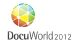 Logo of event DocuWorld 2012