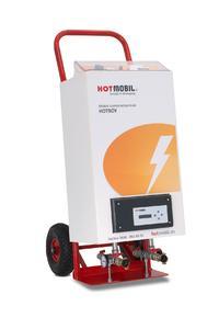 Auf der SHK-Essen präsentiert Hotmobil den neuen Hotboy 1.14. Die professionelle Elektroheizzentrale eignet sich für zahlreiche Einsatzbereiche und gilt deshalb mittlerweile als unverzichtbares Werkzeug