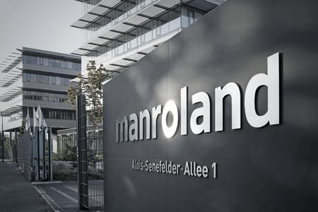Gebäude manroland Augsburg / © manroland web systems