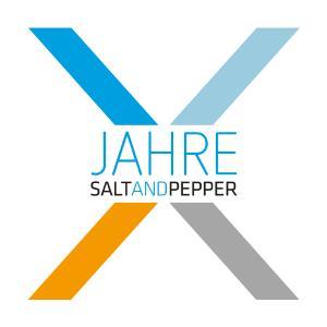 Jubiläumslogo 10 Jahre SALT AND PEPPER