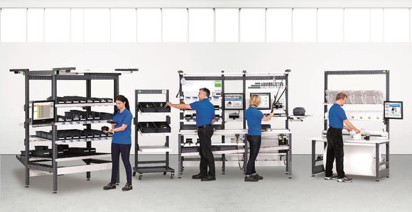 Industrielle Manufaktursysteme von Armbruster Engineering