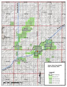 Abbildung 1: Standort des Reno Creek ISR-Projekts, Wyoming