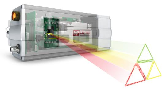 Laser projector CAD-PRO, the precise, lightweight, and productive tool for composite materials (Photo: LAP)