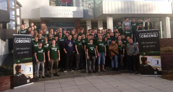 Third 24-hour hackathon at the Westsächsische Hochschule Zwickau with a participant record