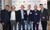 Referenten (v.l.n.r.) Ralph Fürther, Tobias Lobe, Markus Jarre, Lars Fanter, Florian Lormes, Oliver Koch
