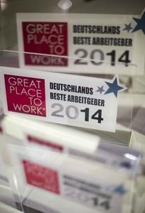 National Instruments auch im Jahr 2014 wieder einer der besten Arbeitgeber Deutschlands