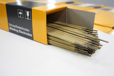 Die Sonderelektrode Finox 29/9 Gold ist für besonders risssichere Verbindungen konzipiert