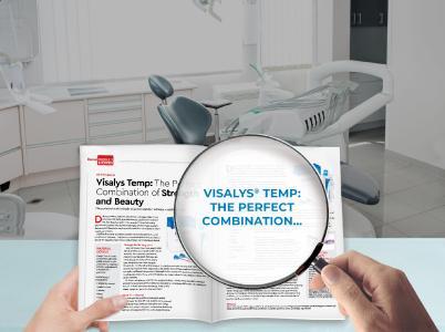 Visalys Temp Dental Product Shopper
