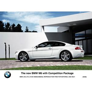 The new BMW M6 with Competition Package (08/2008)