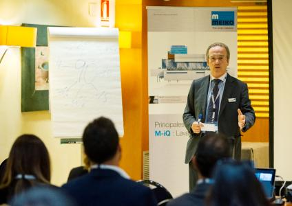Dr. Eric Weiss, Geschäftsführer der italienischen Tochter des baden-württembergischen Hygieneexperten