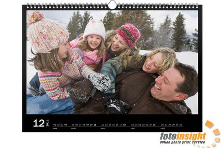 Photo paper calendars from FotoInsight