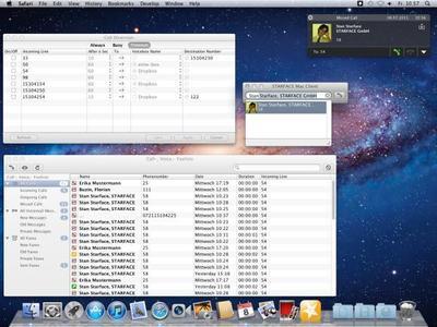Der STARFACE Client for Mac 1.7 steht ab sofort auf der STARFACE Website zum kostenlosen Download bereit