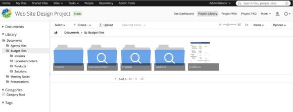 Smart Folders im ECM von Alfresco zeigen Anwendern relevanten Content. Hier steht der Inhalt, nicht der Speicherort, im Fokus.
