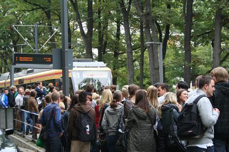 Eine besondere Straßenbahnfahrt für die