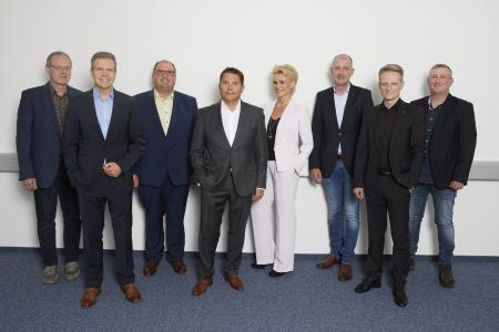 GDHS_Beirat_2021:  Werner Unterburger, Joachim Hirschkorn, Felix Reuter, Robert Jäger, Anne Sroka-Johann, Jörg Lauterbach, Michael Kompter, Jörg Radermacher (v. l. n. r.)
