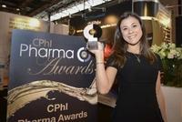Die Gewinnerin des CPHI Pharma Award 2014 für innovative Formulierungen; Nazende Günday Türeli, MJR PharmJet GmbH
