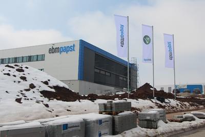 Eröffneter erster Bauabschnitt im Gewerbegebiet St.Georgen-Hagenmoos