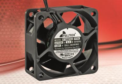 The smallest electronically commutated AC fan sets new standards