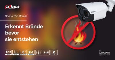 Dahau thermal imaging cameras detect fire sources before they break out