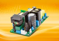 "Compact, fanless and powerful: Highly efficient 2x4"" power supplies  with industrial & medical approvals"