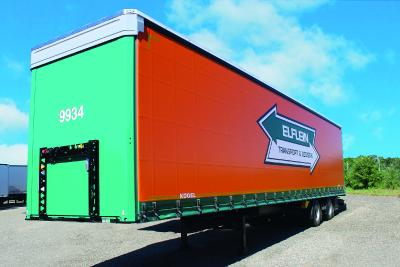 88 new Kögel 2-axle Mega semi-trailers for Elflein