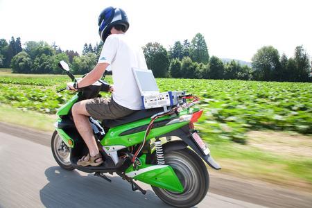 Echtzeitmessung auf E-Bike mit DEWE2-A4