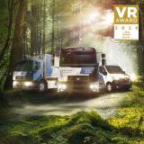 """Renault Trucks hat den VR-Award """"Umweltschutz – Hersteller"""" für das vollelektrische Produktportfolio von 3,1 bis 26 Tonnen gewonnen"""