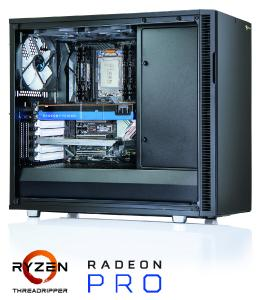 Maßgeschneiderte PULSARON Workstations – jetzt mit 200% mehr Power dank der neuesten AMD Ryzen Threadripper Prozessoren