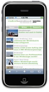mobile Windkraftkonstruktion