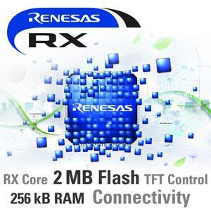 Renesas Electronics erweitert seine RX600 Mikrocontroller-Serie um neue Varianten mit 256 kB Embedded-RAM