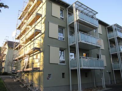 Vorbildliche Detaillösung: Die vorgestellten Balkone vermeiden Wärmebrücken