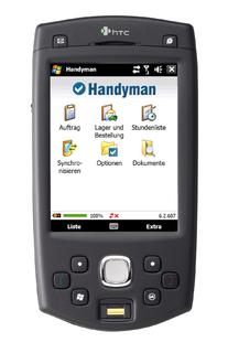 Handyman Frontscreen