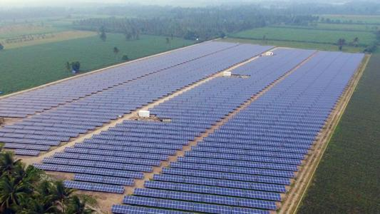 Solar Power Plant Surallah/Philippines