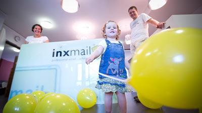 Bei Inxmail beteiligen sich alle an der Kinderbetreuung