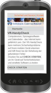 Mobile Check Dortmunder Volksbank (german language)